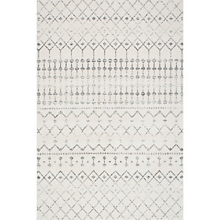 "Nuloom Moroccan Trellis 5' x 7' 5"" Area Rug, Gray, large"