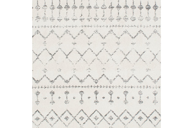"Nuloom Moroccan Trellis 5' x 7' 5"" Area Rug, Gray, large"
