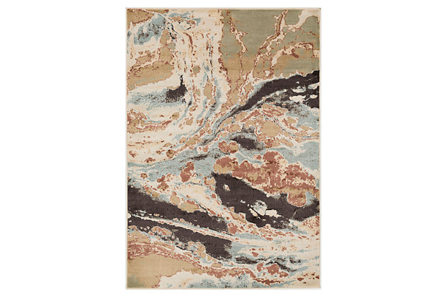 "Home Accents Steinberger 5' 3"" x 7' 6"" Area Rug, Beige, large"