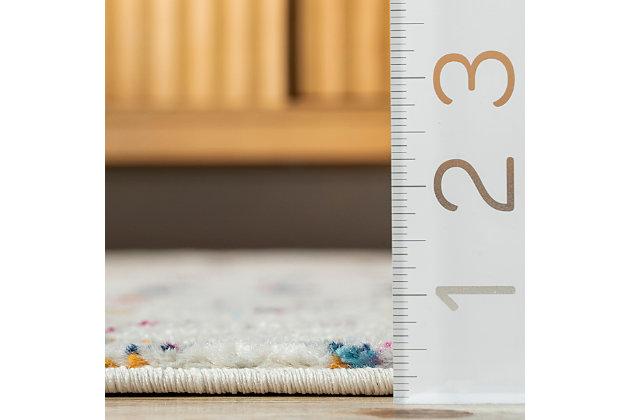 Nuloom Moroccan Trellis 8' x 10' Area Rug, Light Multi, large
