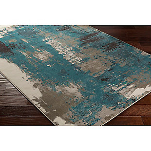 "Home Accents Steinberger 5' 3"" x 7' 6"" Area Rug, Blue, rollover"