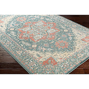 "Home Accents Serene 5' 3"" x 7' 3"" Area Rug, Green, rollover"