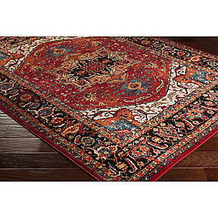 "Home Accents Serapi 5' 3"" x 7' 3"" Area Rug, Red, rollover"
