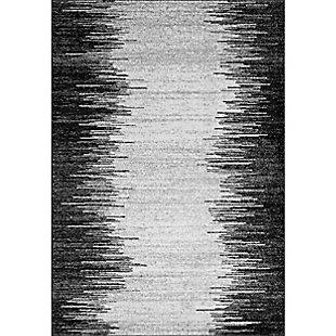 Nuloom Contemporary Lurline 8' x 10' Area Rug, Gray, large