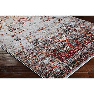 "Home Accents Serapi 6' 7"" x 9' 6"" Area Rug, Red, rollover"