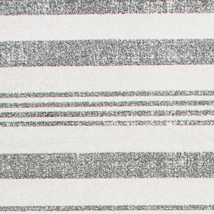 "Nuloom Striped Kelsi 5' 3"" x 7' 7"" Area Rug, Gray, large"