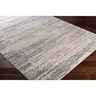 "Home Accents Tibetan 6' 7"" x 9' 6"" Area Rug, Gray, rollover"