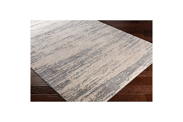"Home Accents Tibetan 5' 3"" x 7' 6"" Area Rug, Gray, large"
