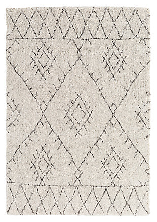 "Home Accents Wilder 5' 3"" x 7' 7"" Area Rug, Khaki, large"