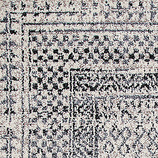 "Nuloom Claudia Checkered Diamonds Tassel 7' 6"" x 9' 6"" Area Rug, Gray Multi, large"