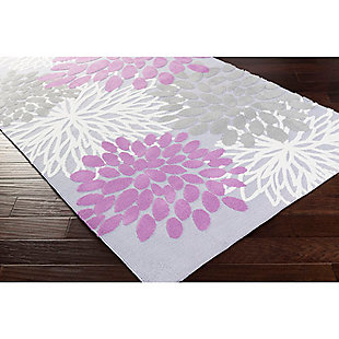 Home Accents Abigail 5' x 8' Rug, Purple, rollover