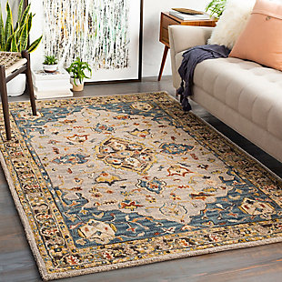 "Home Accent Gallagher 5' x 7'6"" Area Rug, Blue, rollover"