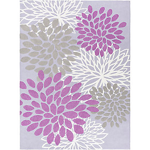 Home Accents Abigail 8' x 11' Rug, Purple, large