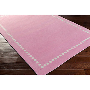 """Home Accents Abigail 3'3"""" x 5'3"""" Rug, Pink, rollover"""