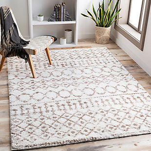 "Home Accent Mcneil 5'3"" x 7'3"" Area Rug, Brown/Beige, rollover"
