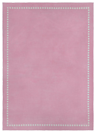 Home Accents Abigail 8' x 11' Rug, Pink, large