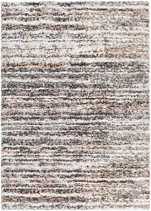"Home Accent Hudson 5'3"" x 7'3"" Area Rug, Black/Gray, large"