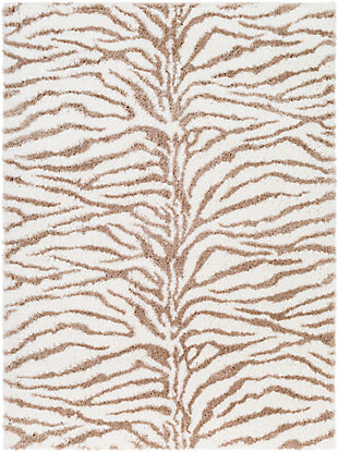 """Home Accent Rosa 5'3"""" x 7'3"""" Area Rug, Brown/Beige, large"""