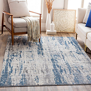"Home Accent Mclemore 5'3"" x 7'3"" Area Rug, Blue, rollover"