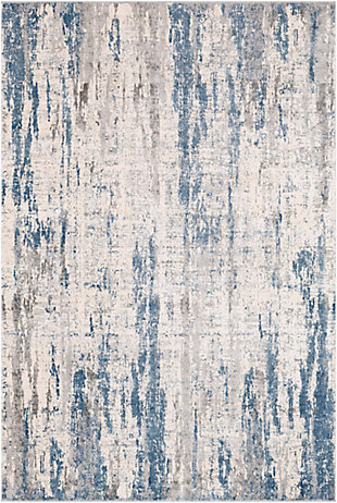 "Home Accent Mclemore 5'3"" x 7'3"" Area Rug, Blue, large"