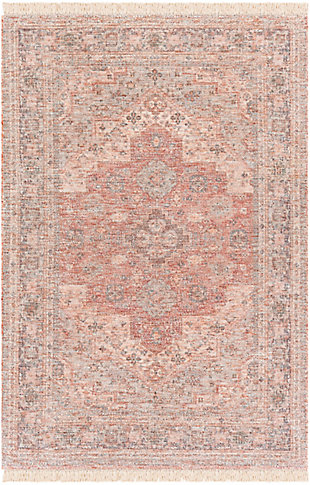 "Home Accent Burton 5' x 7'6"" Area Rug, Orange, large"