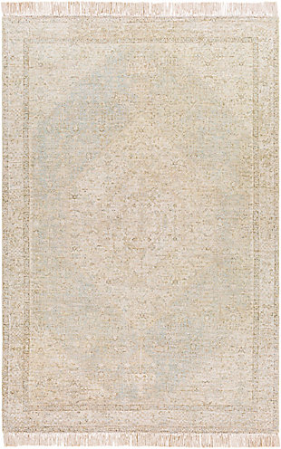 "Home Accent Sunday 5' x 7'6"" Area Rug, Brown/Beige, large"
