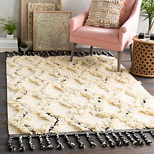 "Home Accent Langer 5' x 7'6"" Area Rug, Brown/Beige, rollover"