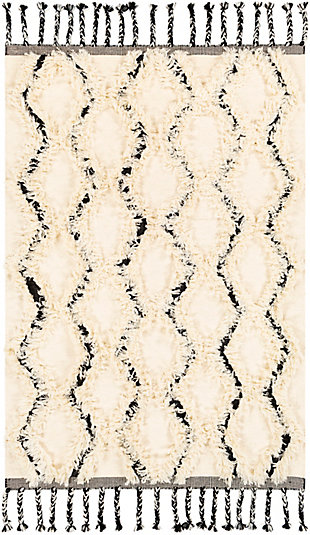"Home Accent Langer 5' x 7'6"" Area Rug, Brown/Beige, large"