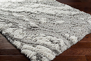 "Home Accent Barronly 5'3"" x 7' Area Rug, Black/Gray, rollover"