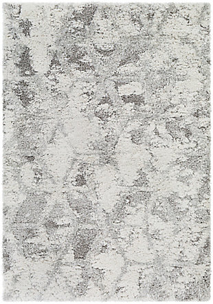 """Home Accent Southley 5'3"""" x 7' Area Rug, Black/Gray, large"""