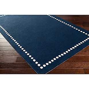 Home Accents Abigail 5' x 8' Rug, Navy, rollover
