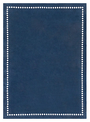 Home Accents Abigail 8' x 11' Rug, Navy, large