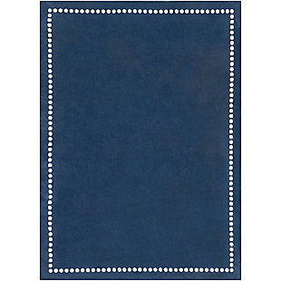 Home Accents Abigail 8' x 11' Rug, Navy, rollover