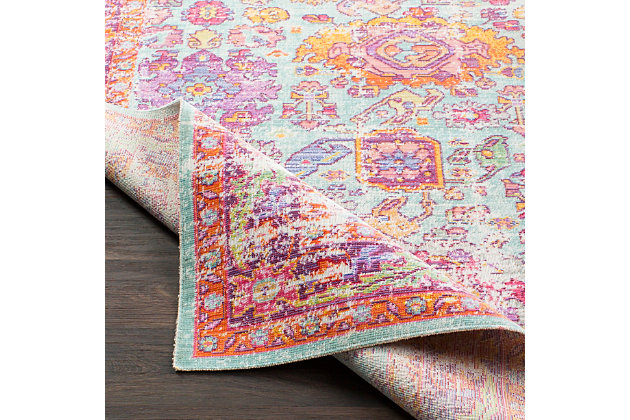 "Home Accents Antioch 7' 10"" x 10' 6"" Rug, Multi, large"