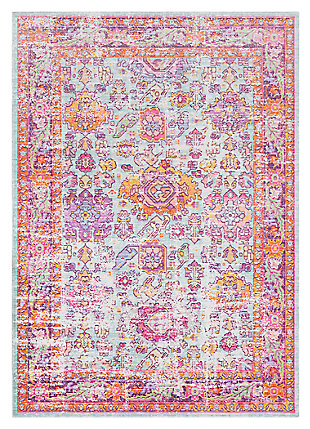 "Home Accents Antioch 3' 11"" x 5' 11"" Rug, Multi, large"