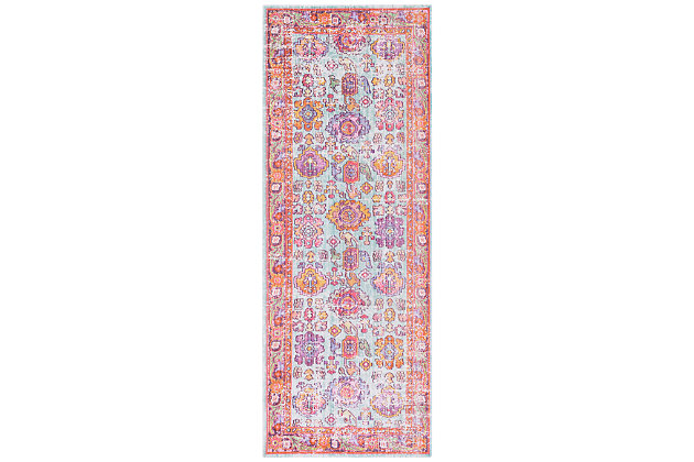 "Home Accents Antioch 3' x 7' 10"" Rug, Multi, large"
