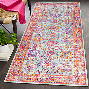 "Home Accents Antioch 3' x 7' 10"" Rug, Multi, rollover"