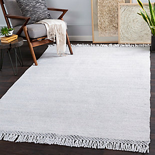 "Home Accent Salvatore 5' x 7'6"" Area Rug, Black/Gray, rollover"