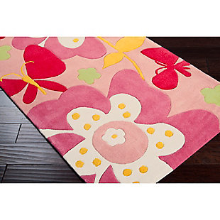 Home Accents Chic 3' x 5' Rug, Pink, rollover