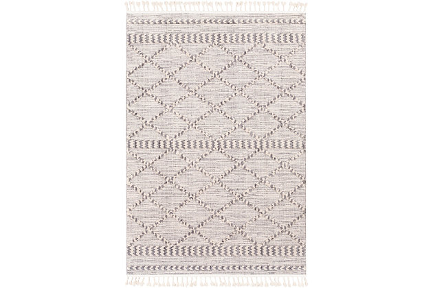 """Home Accent Vance 5'3"""" x 7'3"""" Area Rug, Blue, large"""