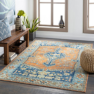 "Home Accent Kennerly 5'3"" x 7'3"" Area Rug, Brown/Beige, rollover"