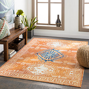 "Home Accent Lawler 5'3"" x 7'3"" Area Rug, Brown/Beige, rollover"
