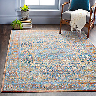 "Home Accent Marshall 5'3"" x 7'3"" Area Rug, Brown/Beige, rollover"