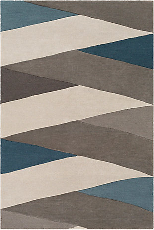 """Home Accent Stonefield 5' x 7'6"""" Area Rug, Blue, large"""