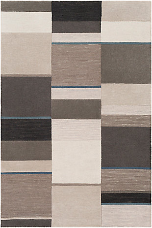 """Home Accent Beaudet 5' x 7'6"""" Area Rug, Blue, large"""