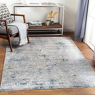 "Home Accent Partons 5' x 7'5"" Area Rug, Blue, rollover"
