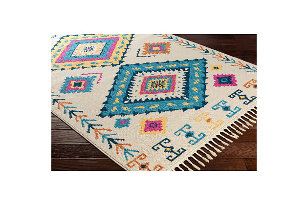 Home Accents Love 2' x 3' Rug, Multi, large