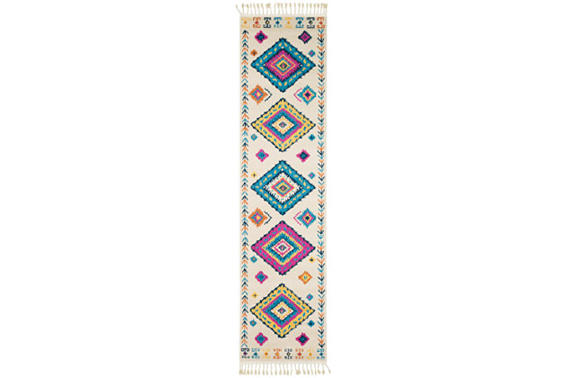 "Home Accents Love 2' 7"" x 10' Runner, , large"
