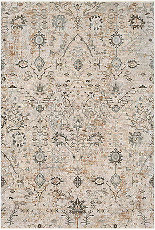 "Home Accent Vaillancourt 5' x 7'5"" Area Rug, Brown/Beige, large"