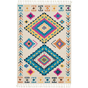 "Home Accents Love 9' 3"" x 12' 1"" Rug, Multi, large"